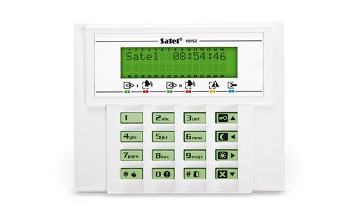 Satel VERSA 10-KLCD - Zestawy alarmowe