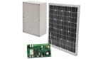 Baza pod zestaw alarmowy: centrala + panel solarny
