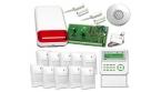 Duży system alarmowy umożliwiający budowę automatyki domu