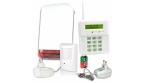 Bezprzewodowy system alarmowy z jedną czujką