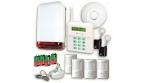 Bezprzewodowy zestaw alarmowy - 4 czujki