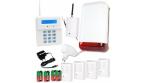 Bezprzewodowy system alarmowy z powiadomieniami SMS - 4 czujki